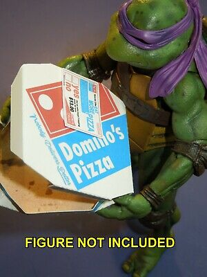 1 Easy Fold Dominos Pizza Box for Neca 7 inch Teenage Mutant Ninja Turtles TMNT