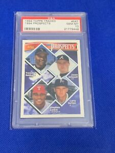 1994-Topps-Traded-Prospects-Jason-Schmidt-RC-56T-PSA-10-GEM-MINT-Rookie-Card