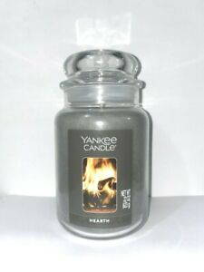 ☆☆HEARTH☆☆ LARGE YANKEE CANDLE JAR~FREE FAST SHIPPING☆☆BEST PRICE ON EBAY