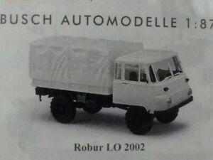 1-87-Busch-Bausatz-Kit-Robur-LO-2002-weis-60250