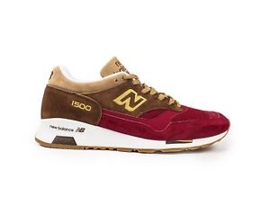 official photos 986ae af310 Details about New Balance 1500 Made In UK ENGLAND # M1500RNR Burgundy  Holiday Pack SZ 8 - 13