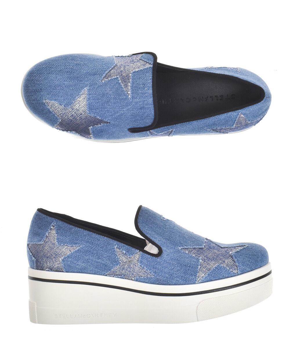 Stella McCartney scarpe scarpe da ginnastica BINX  Donna Blu 4790W1A49 4572  qualità autentica