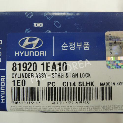HYUNDAI ACCENT 2005-2010 Genuine OEM Key Ignition Lock Cylinder