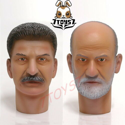 Wild Toys 1//6/_ Loose Head Set// 2 /_Stalin and Freud Now WT002Z