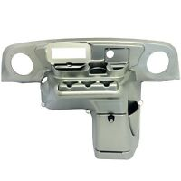 Ezgo Txt 1996-2013 Golf Cart Elite Radio Dash Cover In Silver Finish
