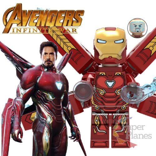 Iron Man Mark 50 Custom Minifigure MOC Lego Avengers Infinity War D009