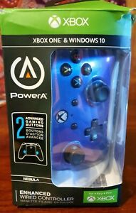 Enhanced Wired Controller for Xbox One Cosmos Nebula