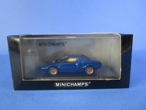 MINICHAMPS LANCIA STRATOS, BLUE, 1/43, MIB!