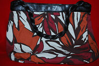 Avon Prints Galore Canvas Bag Tote Purse Handbag Shopper Free Shipping