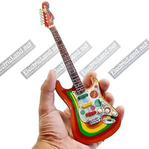 Mini Guitar scale 1:4 BEATLES george harrison rocky miniature gadget collectible