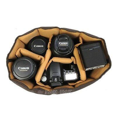 Ciesta Flexible(M) Camera insert Partition Padded Bag Case for DSLR SLR Lens