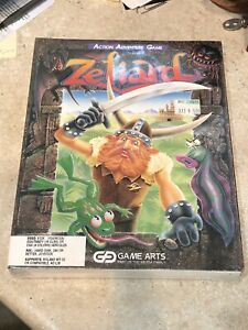1990-Game-Arts-ZELIARD-Action-Adventure-Computer-Game-MS-DOS-3-5-034-RARE-SEALED