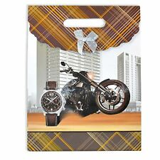 Gift Bags for Man Luxurious Birthday Fathers Day Christmas Paper Gift Bags