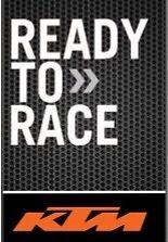 Bull-LEDs > KTM DUKE 200 390 HELMET STICKETS - READY TO RACE BLACK 2PCS