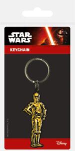 Star Wars (C3 PO) Rubber Keychain Keyring NEW - FAST UK DISPATCH