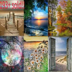 5D-DIY-Full-Drill-Square-Diamond-Painting-Scenery-Cross-Stitch-Kits-Home-Decor