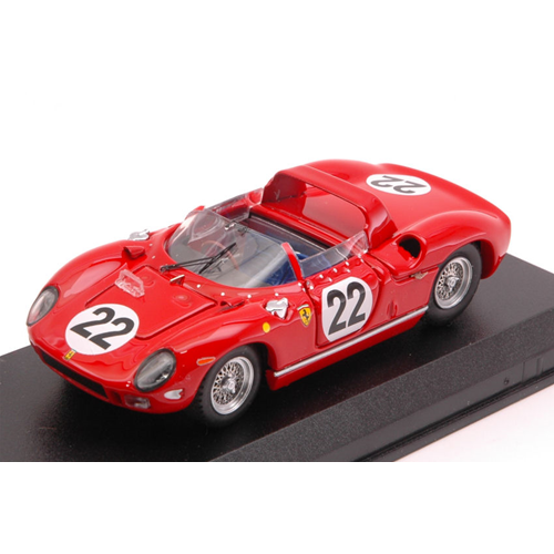FERRARI 275 P N.22 ACCIDENT LE MANS 1954 G.BAGHETTI-U.MAGLIOLI 1:43 Art Model