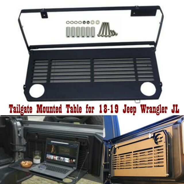 Multi-Purpose Rear Tailgate Mounted Table Fit 18-19 Jeep Wrangler JL Accessories