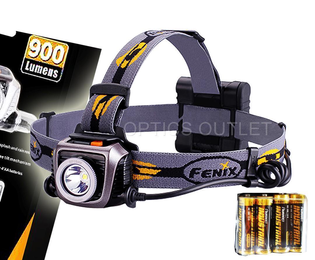 Fenix HP15UE Ultimate Edition 900 900 900 Lumens Headlamp w/ 4xAA - grau 2c192e