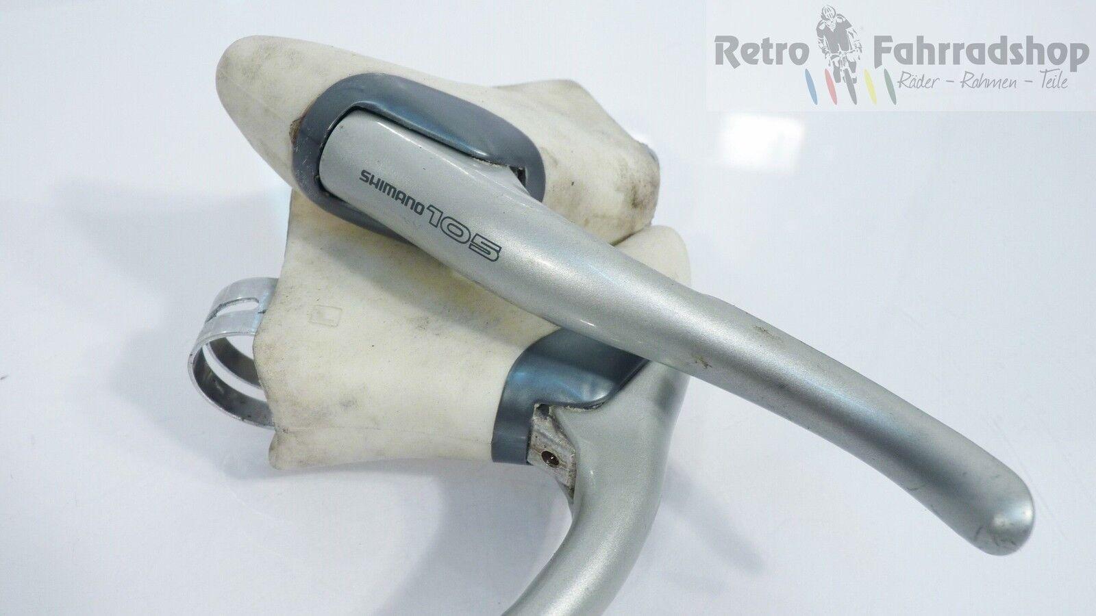 Shimano 105 BL-1055 Rennrad Cross Bremshebel FIXIE weiße Gummis RAR 254g