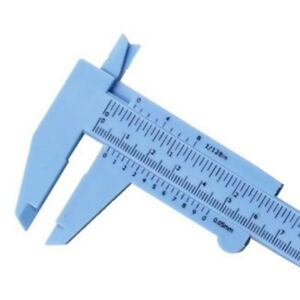 Plastic Mini Precision Ruler Sliding 150mm Vernier Caliper Gauge Measuring Tools