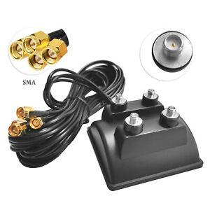 G72C 3m WIFI 4x SMA Kabel Antenne Verlängerungskabel Adapter mit Magnet Standfuß