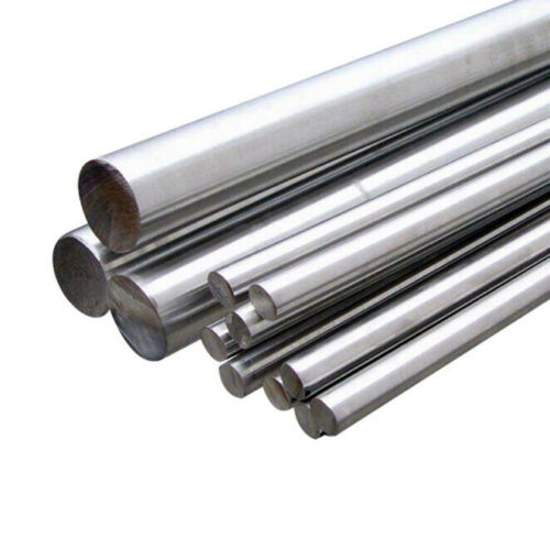 304 Stainless Steel Round Metal Bar Solid Rod Dia 6mm-14mm Length 125mm-500mm