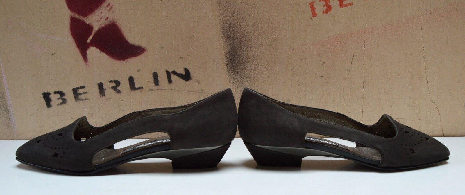 LIBELLE Damen Pumps UK 2,5 Ballerina made in W.Germany grau True Vintage flach grau W.Germany cd128c