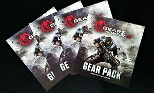 Gears of War 4 Gear Pack - Operation Packs 1, 2, & 3 DLC - NEW