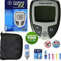 Blood Glucometer Glucose Diabetic Monitoring Kit Starter Sugar Test Diabetes Set