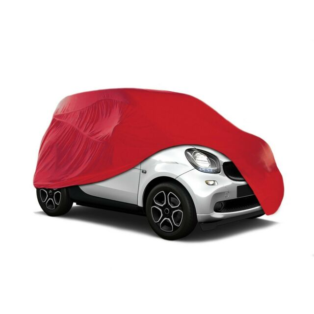 Cosmos Indoor Car Garage Cover LARGE Red Supersoft Breathable Dustproof Fabric