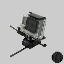 GoPro Cremallera Monte para HERO 3 3+ 4 Sesión Universal Soporte NEGRO/negro