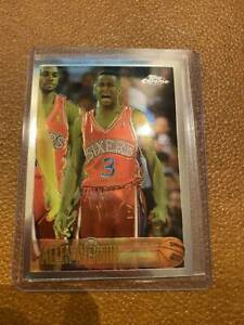 Allen-Iverson-1996-Topps-Chrome-Rookie-RC-Card-171-NBA-Basketball