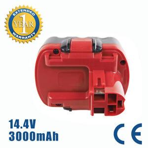 2x Akku 14,4V 3000mAh Ni-MH für Bosch 2 607 335 712 2 610 908 568 für PSR1440//B