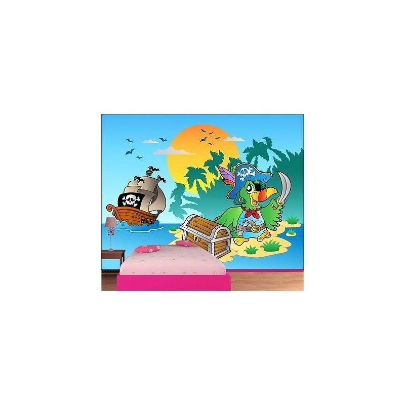 Carta Dipinto Bambino Gigante Isola Pirata 615