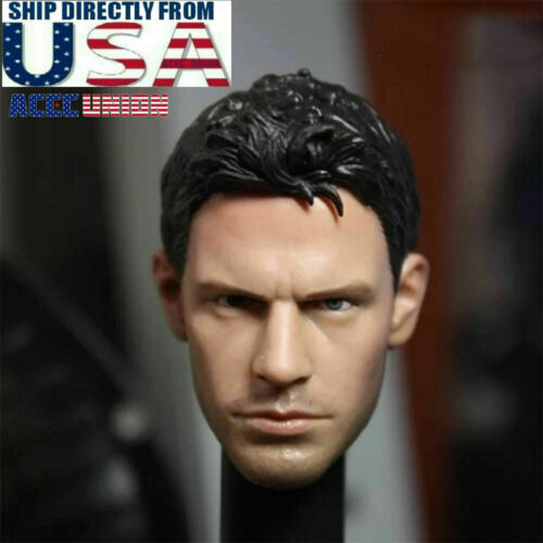 1//6 Resident Evil Chris Redfield Head Sculpt For Hot Toys PHICEN Male Figure USA