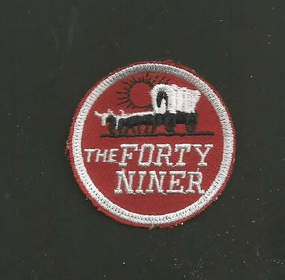 """THE FORTY NINER    RAILROAD PATCH 2 /"""""""