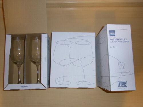 Schott Zwiesel Rotwein-Glas Serie 2er Set Tritan Protect Edición Wein /& Vinos