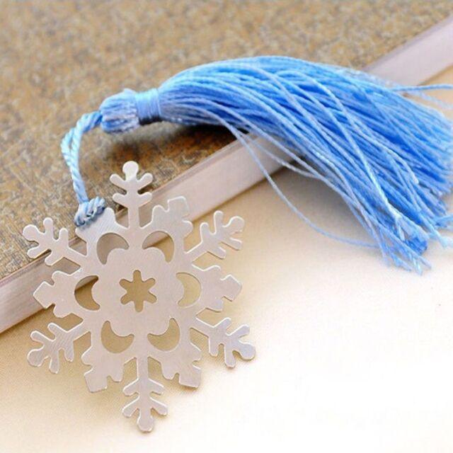 Gift Book Magazine Accessories Snowflake Bookmarks Bookmark Modern Crafts