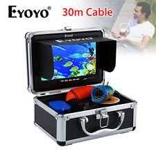 "Brand EYOYO 7"" Screen 30m Fish Finder Underwater Fishing Camera Monitor 1000TVL"