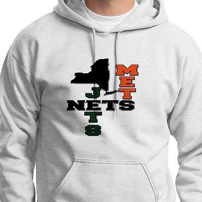 NETS METS JETS Brooklyn jersey T-shirt New York New Jersey Hoodie Sweatshirt