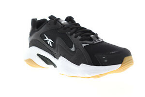 Reebok-Royal-Turbo-Impulse-EH3462-Mens-Black-Mesh-Athletic-Lace-Up-Running-Shoes