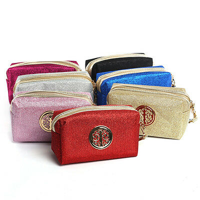 Travel Makeup Cosmetic Bag Toiletry Beauty Wash Case Handbag Organizer Holder