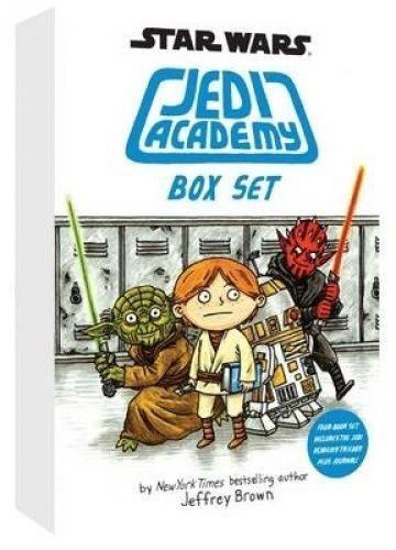 Star Wars Jedi Academy by Jeffrey Brown (Paperback, 2015) Box Set 4 Books