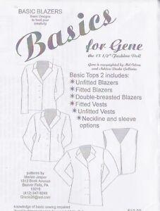 40/'S /& 50/'S DAY AND NIGHT  DRESSES DOLL PATTERN GENE TYLER TONNER RARE