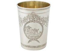 Russian Silver Beaker - Antique 1777