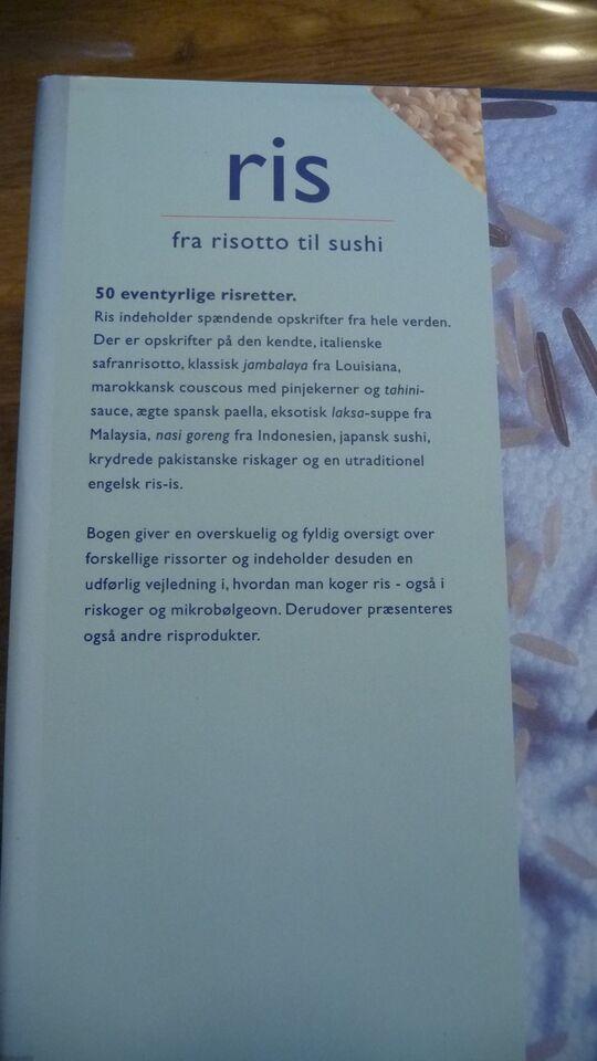 Ris fra risotto til Sushi, Clare Ferguson, emne: mad og vin