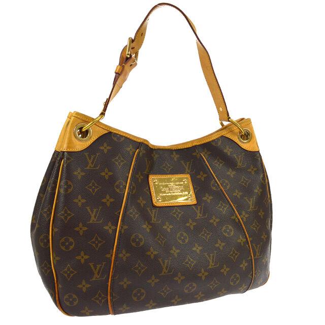 bf1353dc1da Louis Vuitton Galliera PM Monogram Hobo Shoulder Bag Leather M56382