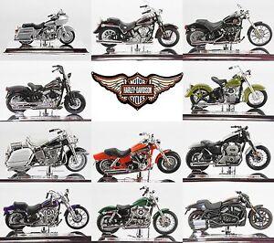Escala-1-18-seleccion-de-motos-Harley-Davidson-1-Maisto-modelo-a-elegir-S