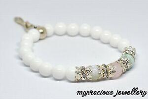 Natural Bracelet Gemstone Fertility Quartz Moonstone Aventurine Healing IVF UK
